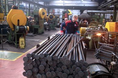 16 upset forging machines for shear stud manufacturing