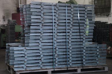 welded punching shear rails