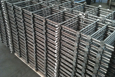 welded punching shear rails