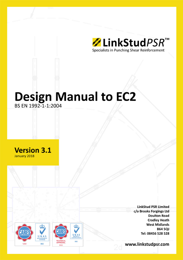 LinkStud PSR™ - Design Manual to EC2 v3.1