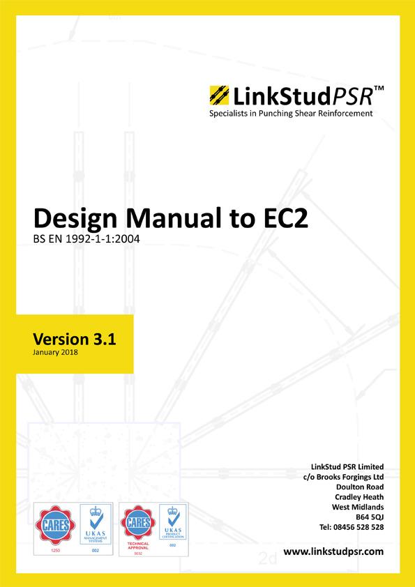 LinkStud PSR™ - Design Manual to EC2 v3.1