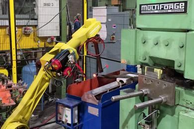 Robotic Upset Forging